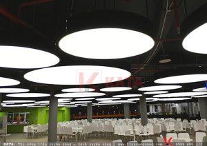 Thi công hộp đèn xuyên sáng đặc biệt lớn tại dự án FPT Đà Nẵng
