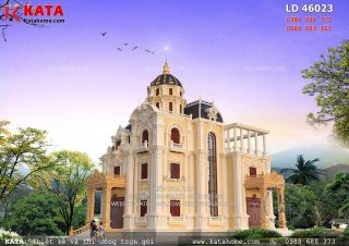 Biệt thự lâu đài kiểu Pháp 3 tầng cổ điển tại Hải Dương – Mã số: LD 46023